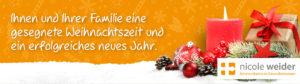 Nicole Weider, Weihnachtsgrüße