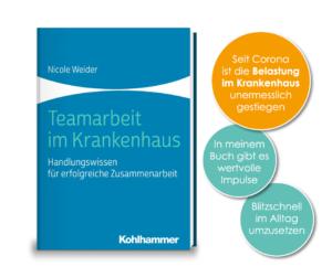 Fachbuch, Teamarbeit im Krankenhaus